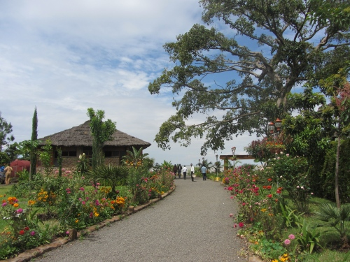 Lake Tana and garden